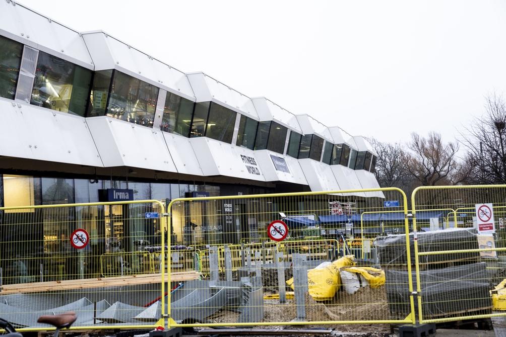 Østerport stations nye tilbygning er noget, som mange elsker at hade. Foto: Oscar Scott Carl